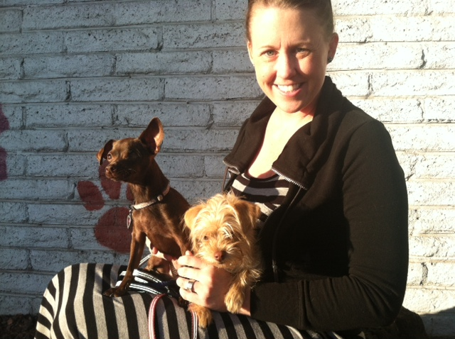 Tootsie's new mom!